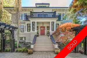 Shaughnessy House for sale:  5 bedroom 5,690 sq.ft. (Listed 2018-10-04)
