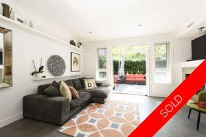 Kitsilano Townhouse for sale: First Avenue Mews 2 bedroom 1,216 sq.ft. (Listed 2019-10-28)