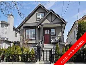 Mount Pleasant 1/2 Duplex for sale:  4 bedroom 1,276 sq.ft. (Listed 2012-04-10)